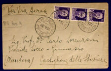 Office Postal Special 1 Section a 18.4.1938 via Aerea Stamped #XP171A
