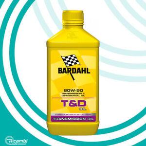 BARDAHL T&D OIL 80W90 OLIO CAMBIO TRASMISSIONE DIFFERENZIALE GL4 GL5 1 LITRO