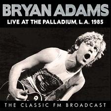 BRYAN ADAMS New Sealed 2018 LIVE 1985 LOS ANGELES CONCERT CD