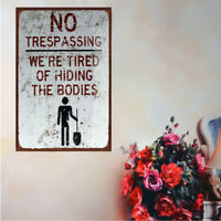Tin Metal Sign Plaque Bar Pub Vintage Retro Wall Decor Poster Home Club #CF7