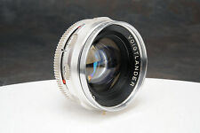 - Voigtlander Septon 50mm f2 Lens for Bessamatic, Ultramatic 35mm Cameras