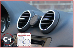 Clearmounts Low-profile Magnetic Phone Holder - Audi A3/S3/RS3 2002-2012 (8P)