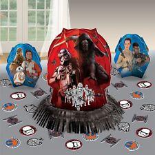 Star War The Force Awakens Table Decoration Kit Centerpiece & Confetti Birthday
