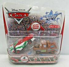Disney Pixar Cars Stunt Racers 2-Pack Francesco Bernoulli Race Team Mater
