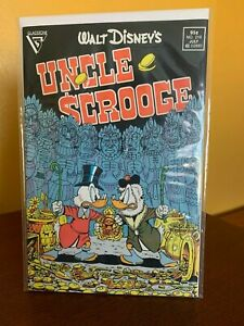 """Walt Disney's Uncle Scrooge #219 1st Don Rosa """"Son of the Sun"""" Gladstone 1987"""