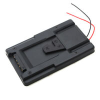 S-GP V Mount Lock Battery Power Adapter Plate for Sony HDV Camcorder DSLR Rig