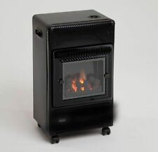 LIFESTYLE LIVING FLAME LPG GAS PORTABLE CABINET HEATER, NEW HEATER/TATTY BOX