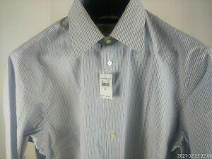 Men's large JOHN VARVATOS USA cotton dress shirt NEW WITH TAGS Auction $9.99