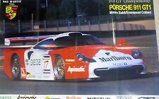 Poster Fia GT Championship Mauro Baldi e Emmanuel Collard su Porsche 911 GT1