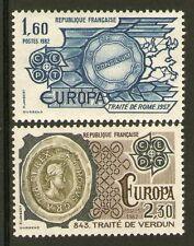 TIMBRE 2207-2208 NEUF XX LUXE - EUROPA TRAITES DE VERDUN ET DE ROME