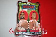 WWE WWF WCW ECW NWO LJN Wrestling Thumb Wrestler Figures, RVD , BIG SHOW, Sealed