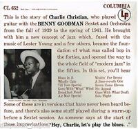 Charlie Christian: Whith the Benny Goodman Sextet And Orchestra - LP Vinyl 33