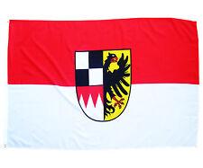 Fahne Mittelfranken quer 90 x 150 cm mittelfränkische Wappen Hiss Länderflagge