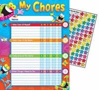 25 Frog-tastic Progress Reward behavior chore charts + 100 Stickers