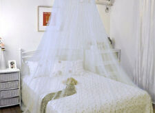 White Lace Bed Netting Canopy Mosquito Net - Mosquito Repeller Repellent Netting