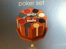Michael Graves Designed Vintage Style Poker Set Original Design Maple Wood