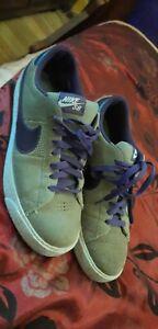 2011 Nike SB Blazer Low Shoes Purple / Gray 318960-251 Men's  SIZE 9