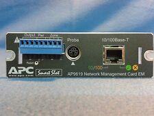 APC AP9619, USV-Netzwerk-Management-Karte, APC UPS Smart-Slot, 10/100MBit