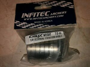 INFITEC archery Weights. Various weights from 7oz to 1oz