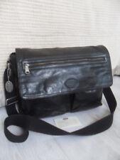 Mens Fossil Transit Black  Messenger  Laptop Shoulder Crossbody Bag Work Travel