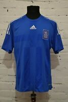 GREECE 2008/2009 HOME FOOTBALL SHIRT SOCCER JERSEY MAILLOT PLAYER ISSUE MENS L
