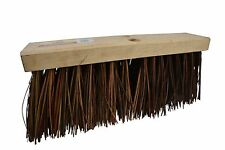 """Street Broom Head Replacement Commercial 16"""" Palmyra Bristles 6.25"""" 1 Pack"""