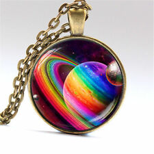 Gay Pride Necklace Same Sex LGBT bronze Jewelry With Rainbow Love Wins New #106