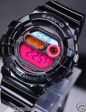 BGD-140-1B Black Digital Casio Baby-G Watch Lady Resin Band Full Packy Box