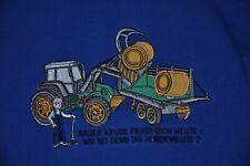 Salt & pepper Sweat Shirt mittelblau  Gr. 128 - 134  Neu  %%%% Bauer