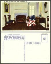 New listing Pennsylvania Philadelphia house flag street Vintage Postcard