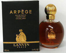 Vintage Arpege Eau De Parfum Spray 3.4oz 100mL By Lanvin Dist. by Cosmair