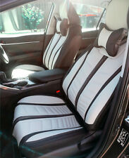 PREMIUM Grey FULL Leather Car Seat Covers for Lexus IS300 ES IS200t RX GS NX