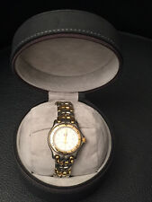 TAG HEUER Ladies Professional Stainless Steel and Gold-Plated White Face