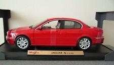 Jaguar X Type  RED  1/18  Die-Cast  Maisto