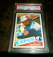 1985 O-PEE-CHEE OPC by Topps #277 TIM RAINES MONTREAL EXPOS HOF  PSA 10 GEM MINT