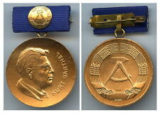 DDR Kurt Barthel Medaille