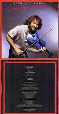 """Jean-Luc Ponty """"a taste for passion"""" di 1979! eccellente fusione Jazz! NUOVO CD"""