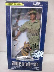 2002 Soldiers of the World Vietnam War Scout Dog Handler Lot 1