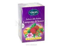 VIROPA Tisana Infuso al Lampone di Bosco 10 Vitamine-15 bustine/filtri Bio