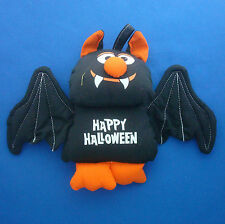 "7"" fabric Happy Halloween cute bat hanging decoration ornament"