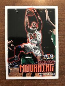 Alonzo Mourning 1999-00 Skybox NBA Hoops #152 Miami Heat HOF