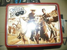 NEW RARE 1999 Collectible The Lone Ranger Metal Lunch Box Still Sealed Candy KY3