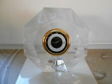 Superbe Horloge en Cristal de Bureau, de Table  Villeroy et Boch