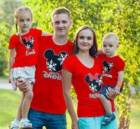 Disney Christmas Family Vacation 2018, Customized cute Matching T-Shirts!