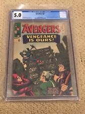 Avengers 20 CGC 5.0 (Classic Silver Age Avengers!!)