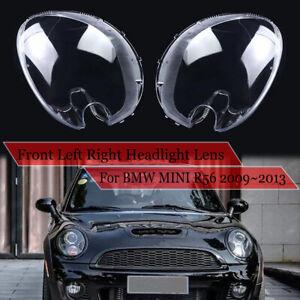Front Right Left Headlight Lens Cover For Mini Cooper R56 hatchback 2009-2013
