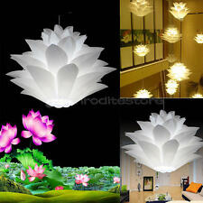 Living Bedroom Retro Ceiling Pendant Light Lamp Shade Lampshade Lotus Chandelier