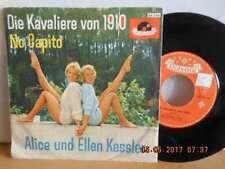 """7"""" RARE polydor 1961 ! ALICE und ELLEN KESSLER - Die Kavaliere von 1910"""
