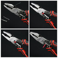 1/3pc Combination Pliers Wire Stripper Crimper Cutter Multifunctional Tool Plier