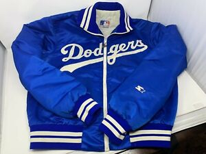 Vintage Starter Mens Los Angeles Dodgers Jacket Size Large - GUC